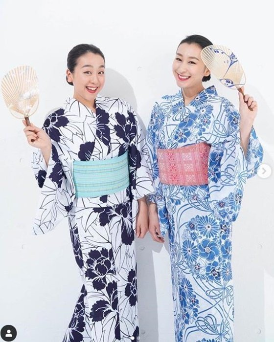 아사다 마오와 아사다 마이. /사진=아사다 마오 인스타그램 캡처