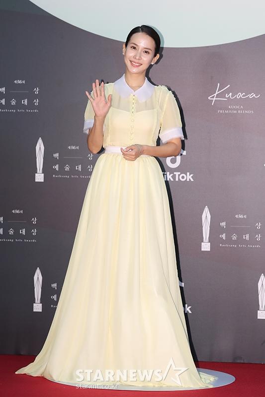 [★포토]조여정 '노란 큐티 드레스'