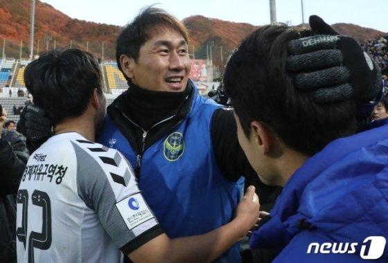유상철 인천 명예감독. /사진=뉴스1