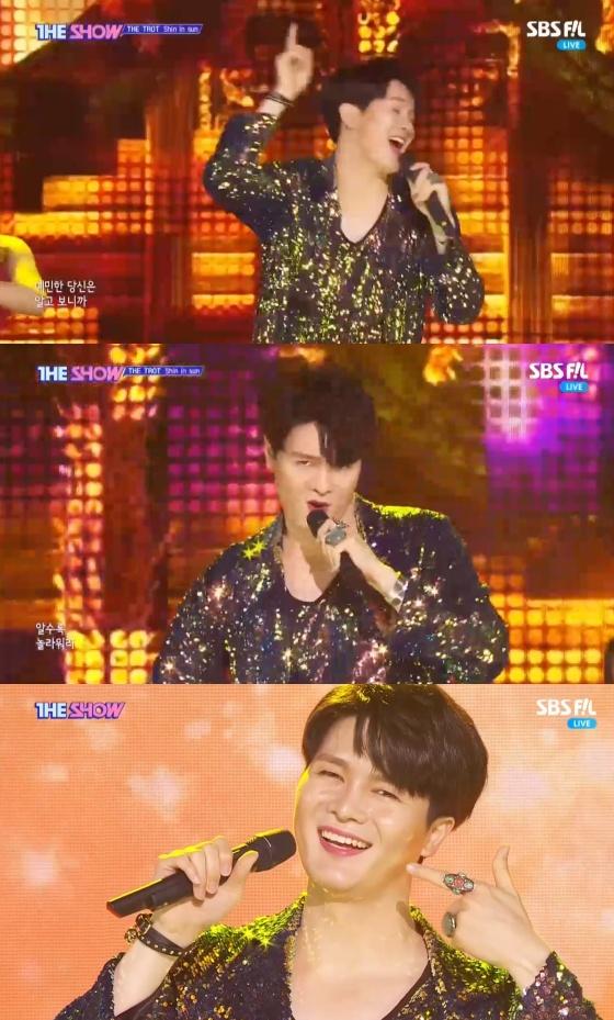 /사진=SBS MTV '더 쇼' 방송화면 캡처