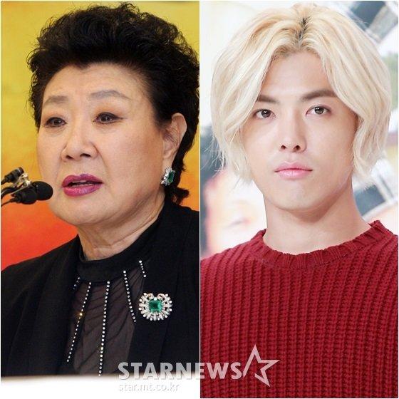 현미(왼쪽)와 강남 /사진=임성균, 김창현 기자