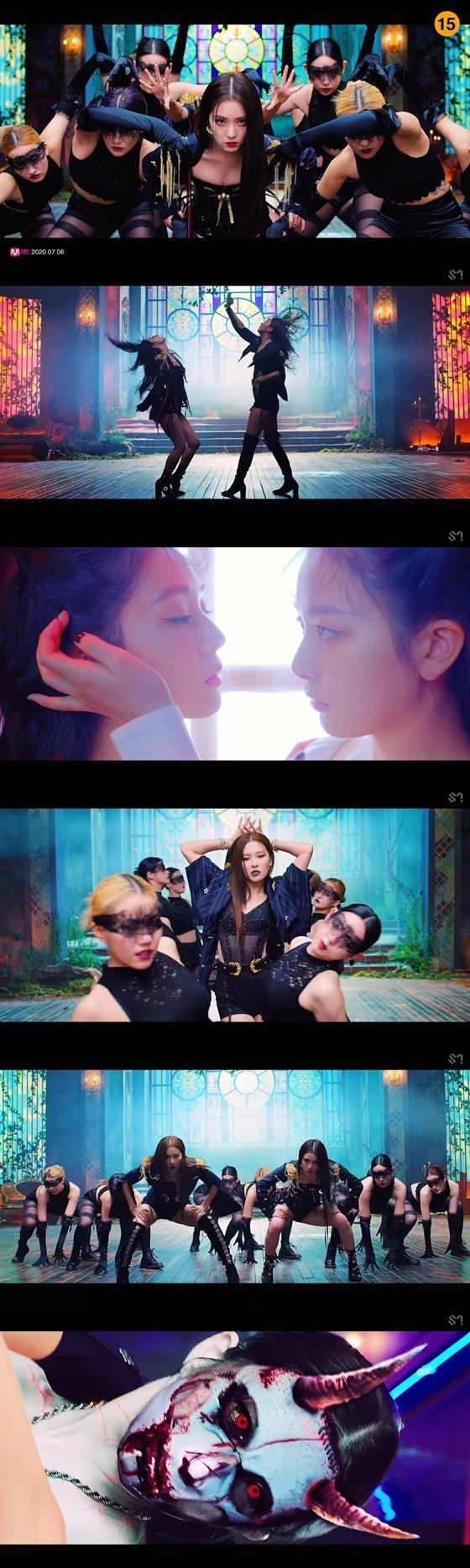 레드벨벳-아이린&슬기(Red Velvet - IRENE & SEULGI) \'Monster\' 뮤직비디오 화면캡쳐