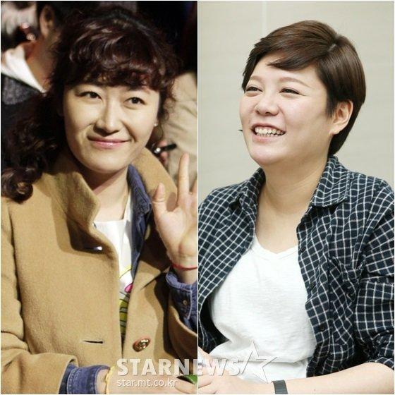 개그우먼 김미려(왼쪽)와 이현정 /사진=스타뉴스