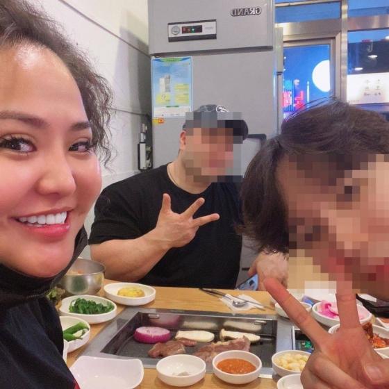 /사진=홍선영 인스타그램 캡처