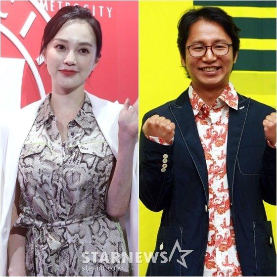 아유미(왼쪽)와 심현섭 /사진=스타뉴스