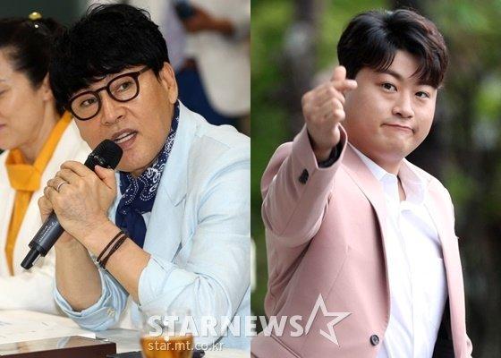조항조(왼쪽), 김호중 /사진=스타뉴스