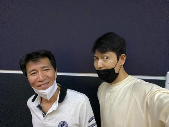 정우성, 신정근 /사진=정우성 인스타그램