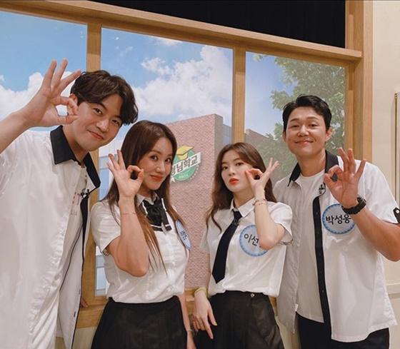 이상윤, 엄정화, 이선빈, 박성웅(왼쪽부터) /사진=이선빈 인스타그램