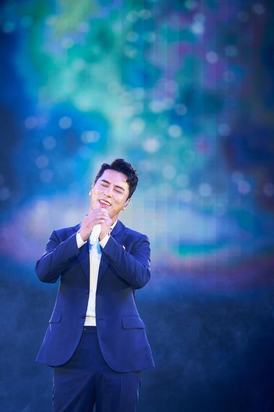 '미스터트롯'콘서트 장민호 무대/ 사진출처=TV조선 '미스터트롯'