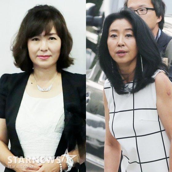 (왼쪽부터) 공지영, 김부선 /사진=스타뉴스