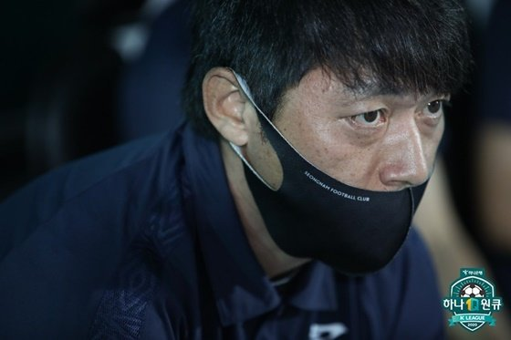 성남의 김남일 감독. /사진=한국프로축구연맹 제공