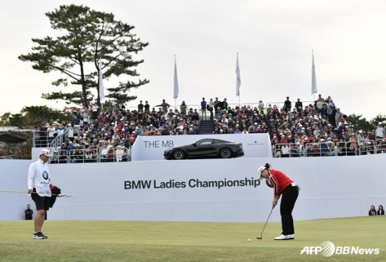 지난 해 열린 BMW 레이디스 챔피언십. /사진=AFPBBNews=뉴스1