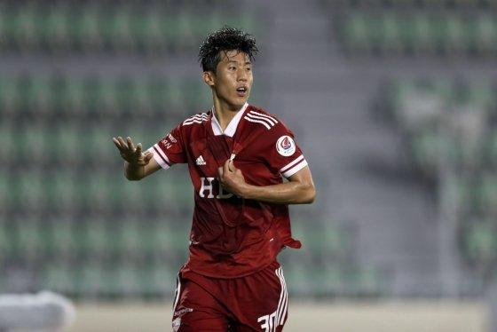 부산 권혁규. /사진=한국프로축구연맹 제공