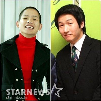 개그맨 김형인(왼쪽)과 최재욱 /사진=스타뉴스, 최재욱 블로그