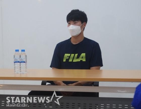 두산 베어스 우완 이승진. /사진=김동영 기자