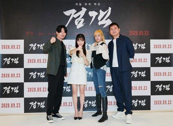 장혁, 김현수, 이나경, 정만식(왼쪽부터) /사진제공=오퍼픽쳐스