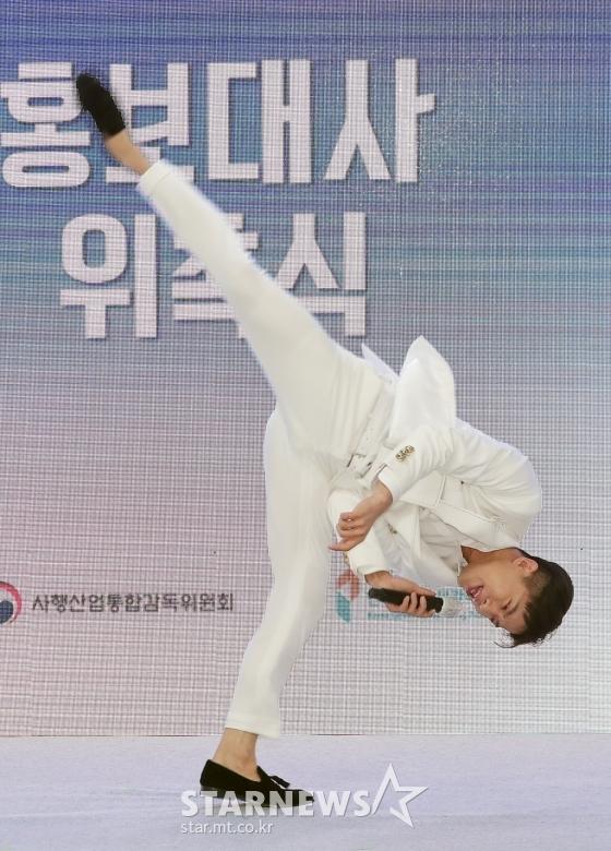 나태주 '발차기 장인'[★포토]