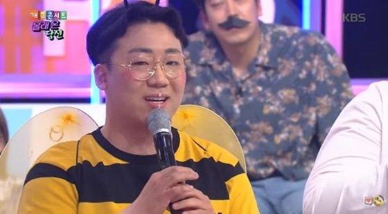 \'개그콘서트\'에 출연한 개그맨 박대승 /사진=\'개그콘서트\' 방송 화면