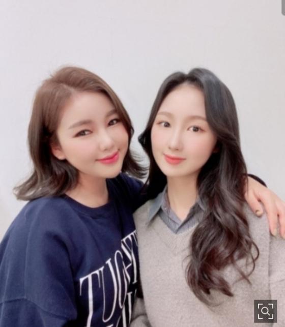 """송가인, 배우 조카 공개 '우월 유전자' 입증 """"은서♡"""""""