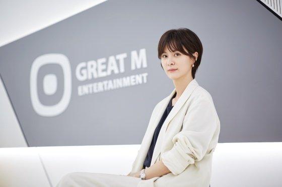 김영선 대표 /사진제공=그레이트엠엔터테인먼트