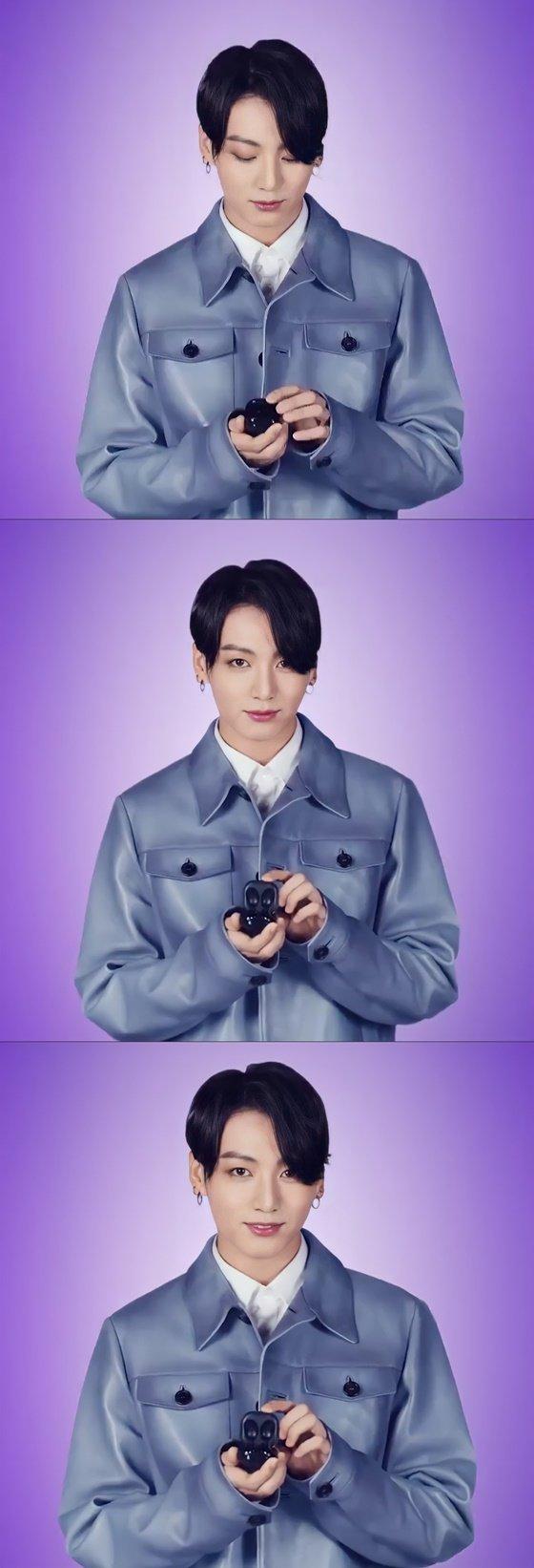 방탄소년단 정국(BTS JUNGKOOK) /사진=삼성 모바일 공식 SNS