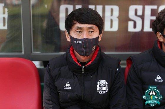 박혁순 서울 감독대행. /사진=한국프로축구연맹 제공