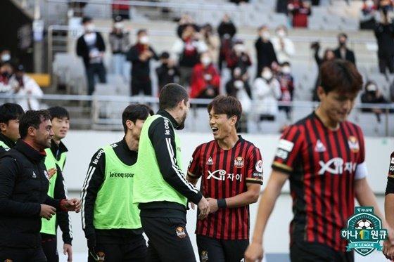 FC서울 선수들. /사진=한국프로축구연맹 제공