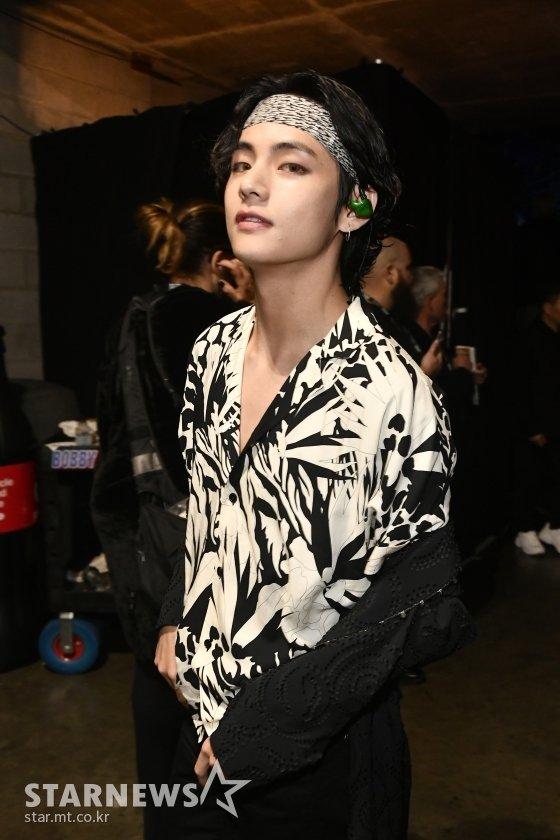방탄소년단 뷔(BTS V) /AFPBBNews=뉴스1=스타뉴스