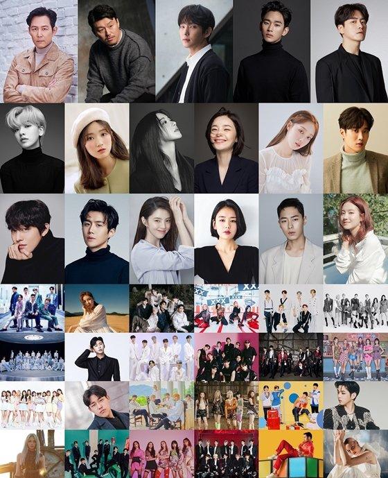2020 Asia Artist Awards 참석 아티스트들