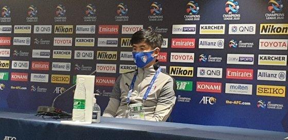 수원 박건하 감독. /사진=한국프로축구연맹