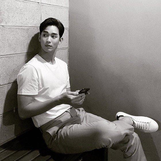 김수현 /사진=김수현 인스타그램