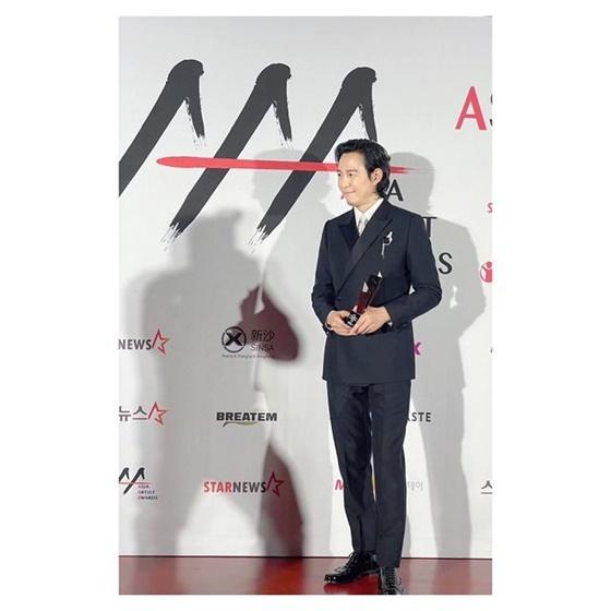 이정재 /사진=아티스트컴퍼니 공식 인스타그램