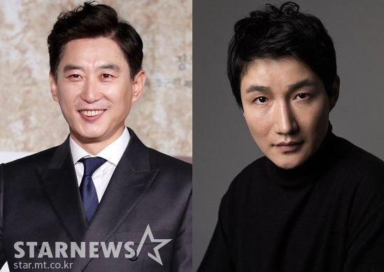 배우 김원해(왼쪽)와 허동원 /사진=스타뉴스, 에이스팩토리