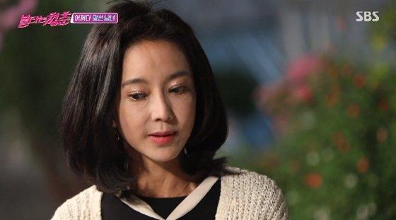 SBS \'불타는 청춘\'에 출연한 곽진영/사진=SBS \'불타는 청춘\' 방송 화면 캡처