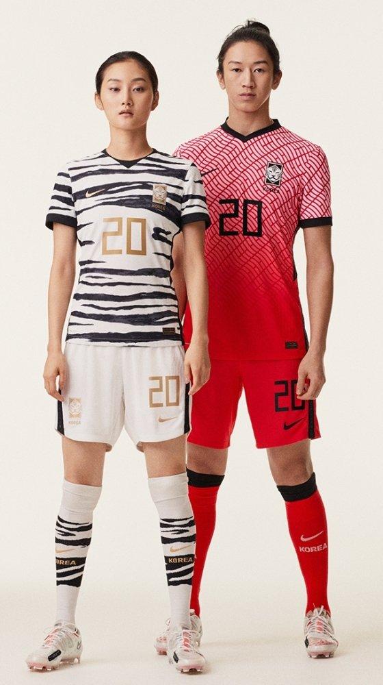 새 국가대표 유니폼. /사진=나이키 제공