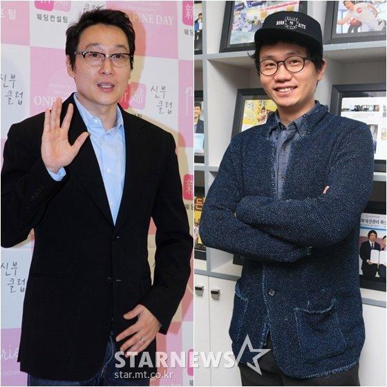 이휘재(왼쪽)와 안상태 /사진=스타뉴스