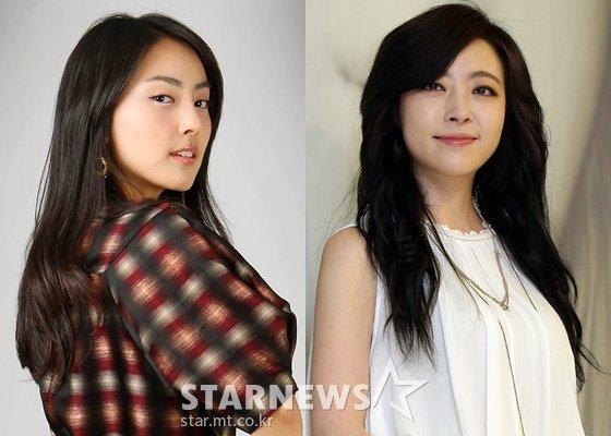 배우 홍인영, 심은진 /사진=스타뉴스