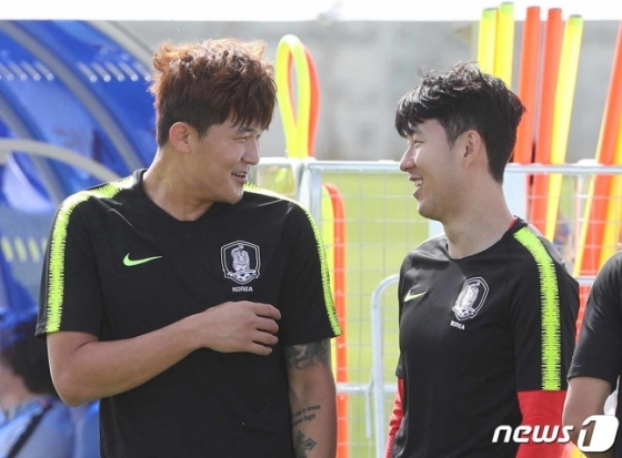 김민재(왼쪽)와 손흥민. /사진=뉴스1