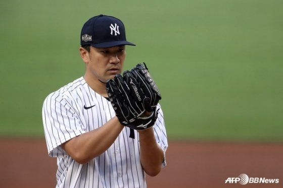 FA 선발투수 다나카 마사히로. /AFPBBNews=뉴스1