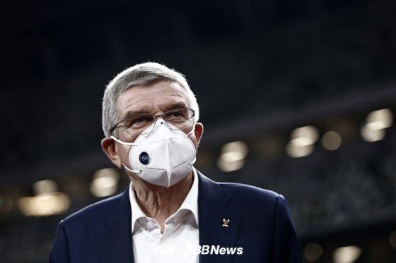 토마스 바흐 IOC 위원장./AFPBBNews=뉴스1