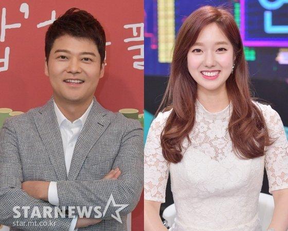 전현무(왼쪽)와 이혜성 /사진=스타뉴스, KBS