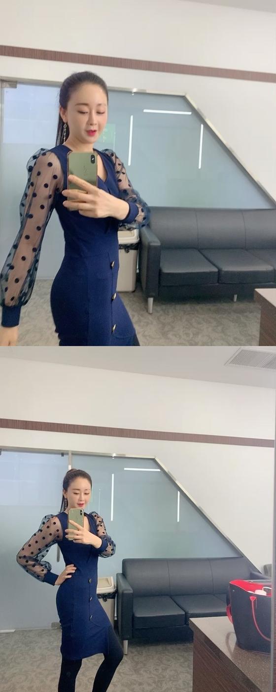배우 함소원이 인스타그램에 공개한 근황./사진=함소원 인스타그램 영상 캡처