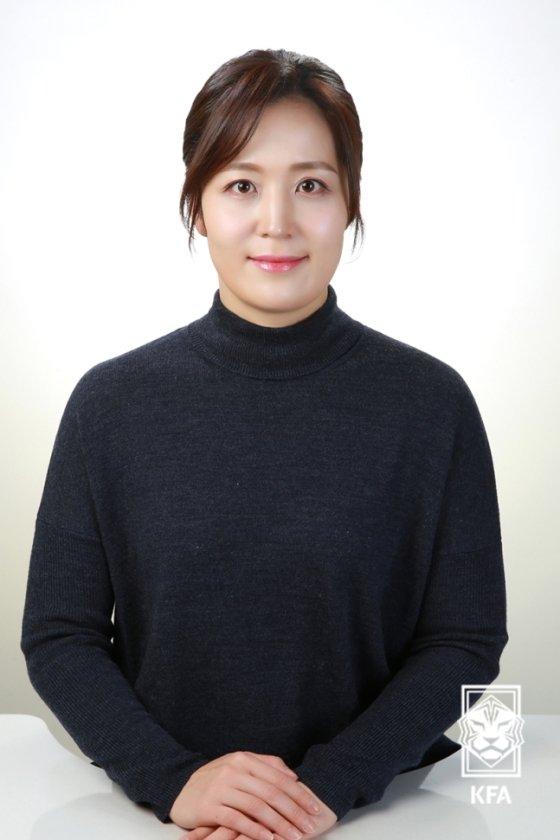 홍은아 대한축구협회 신임 부회장. /사진=대한축구협회 제공