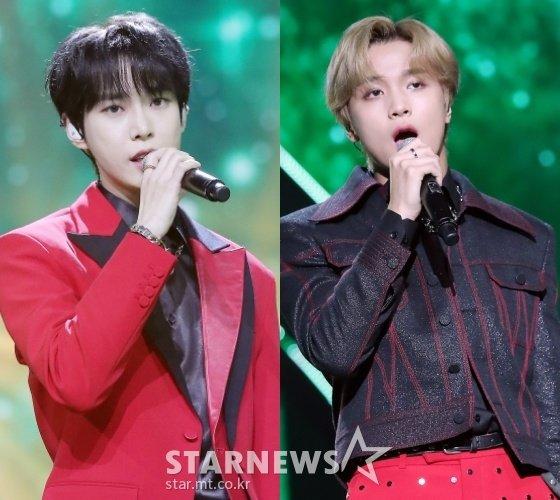 (왼쪽부터)NCT 도영, 해찬 /사진=김창현 기자
