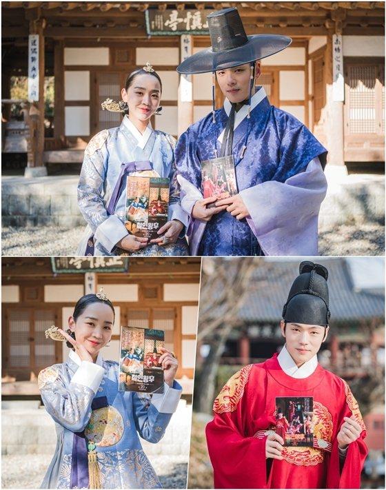 tvN 토일드라마 \'철인왕후\'의 신혜선, 김정현/사진제공=tvN \'철인왕후\'