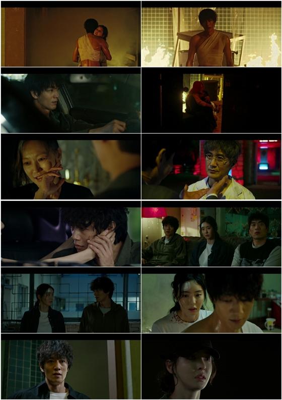 tvN 월화드라마 '루카 : 더 비기닝'에서 이다희가 살인 누명으로 위기에 빠졌다./사진=tvN '루카 : 더 비기닝' 방송 화면 캡처