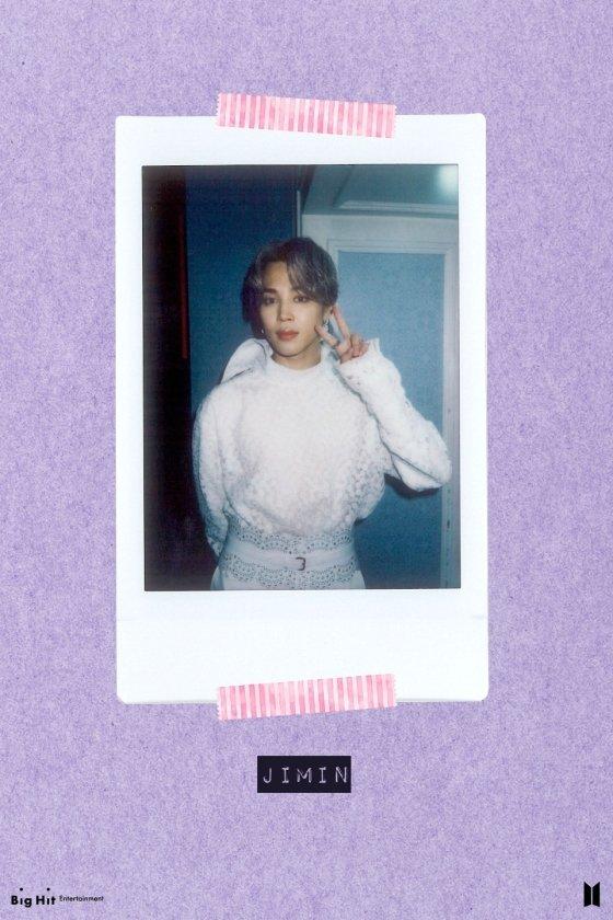 방탄소년단 지민(BTS JIMIN) /사진=위버스(Weverse) \'BTS BE Polaroids\'