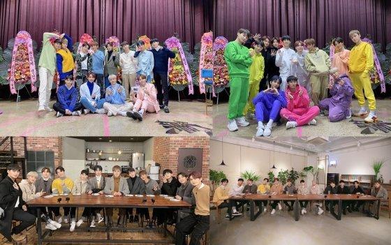 그룹 세븐틴(Seventeen)의 '고잉 세븐틴 2020'(GOING SEVENTEEN 2020)/사진제공=플레디스엔터테인먼트