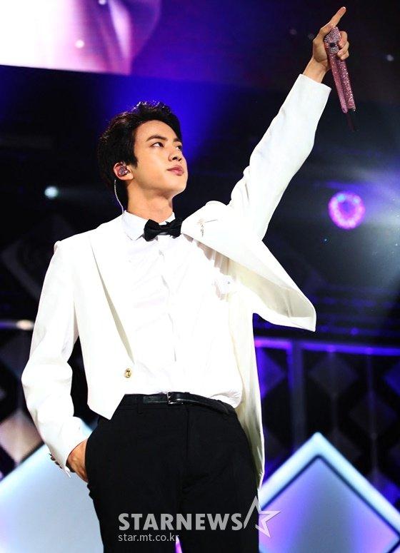방탄소년단 진(BTS JIN) /AFPBBNews=뉴스1=스타뉴스
