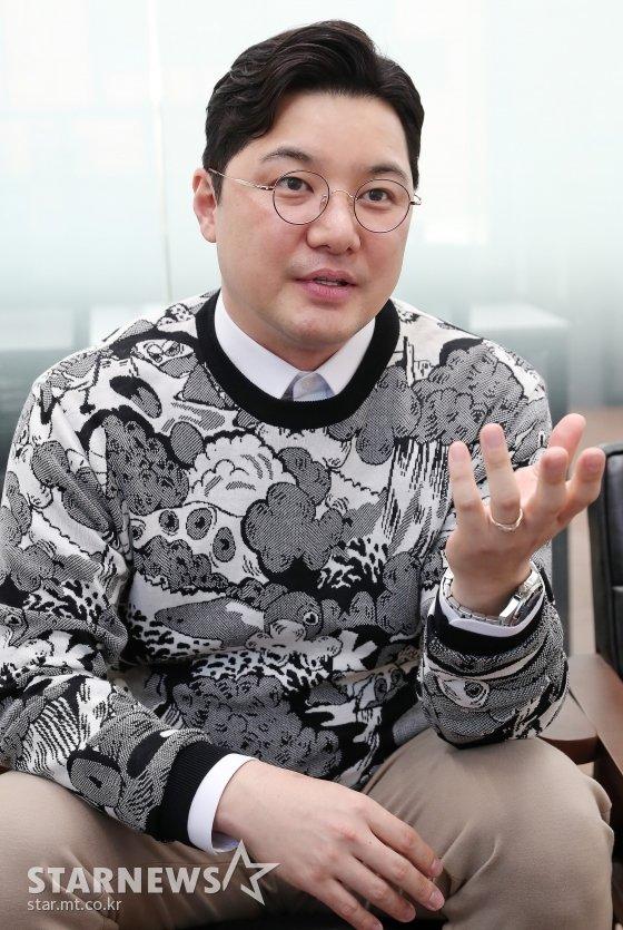 이용민 킹스랜드 매니지먼트 사업본부 대표 CEO/사진=김창현 기자 chmt@